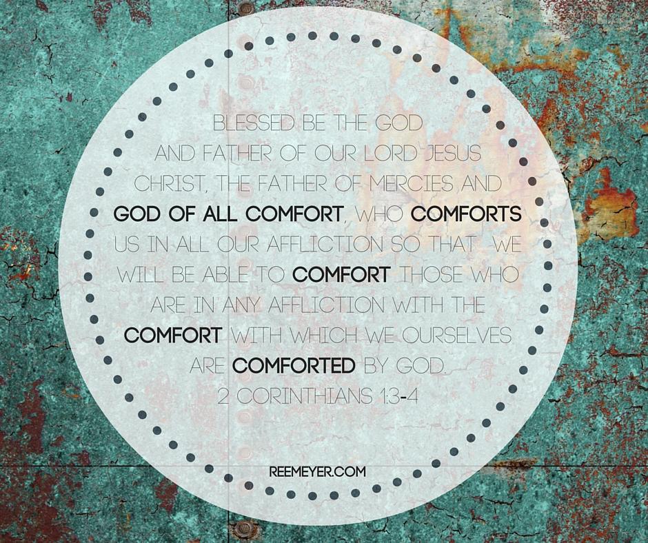 2 Corinthians 1 3-4 for blog