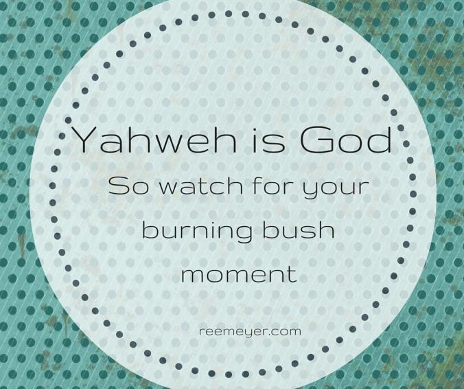 Yahweh is God