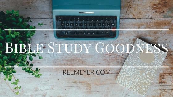 Bible Study Goodness