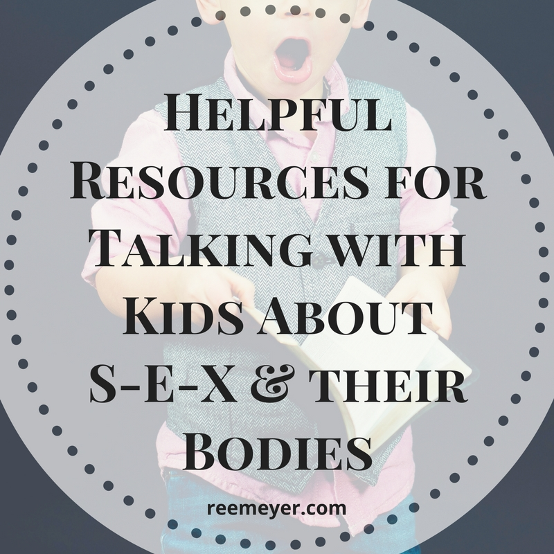 Resources for Talking to Kids about Sex