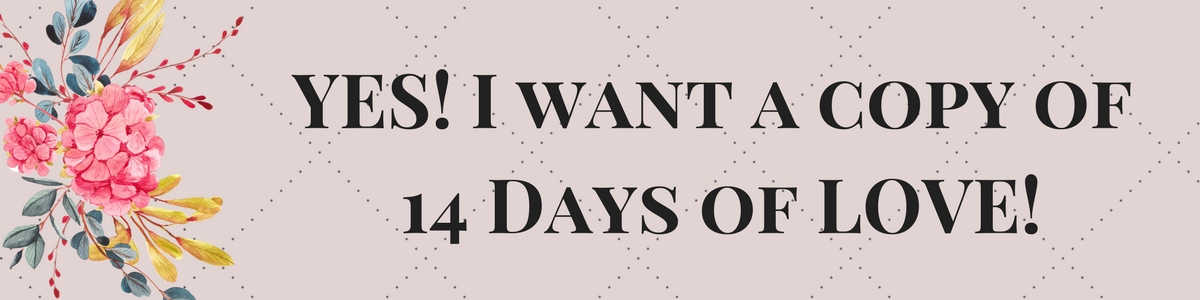 YES! I want a copy of 14 Days of LOVE!