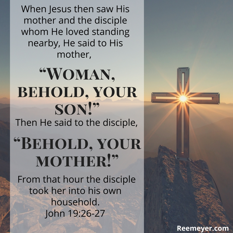 A daily devotional for the week before Easter, slowing down to consider each of the last words of Jesus from the Cross. #Lent #Easter #Devotional