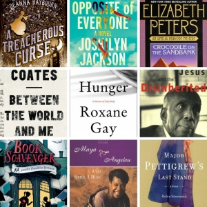 This month: Readerly goodies (#freebooks!) My reading FAIL Challenging books from diverse perspectives A fun new-to-me mystery series/palate cleanser